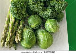 broccoli brussel sprouts asparagus